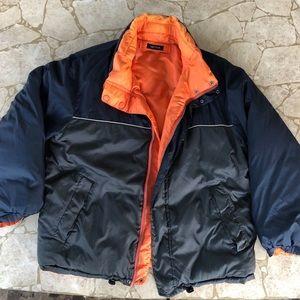 nautica puffer winter coat (size large)